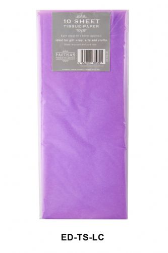 10 Sheet Tissue Paper  Lilac